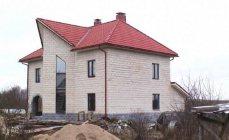 Построен дом из арболита