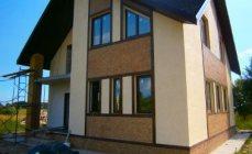 Построили дом из газобетона