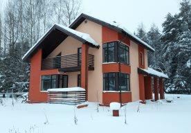 Строительство частного дома из газоблока в Городище