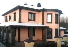 Дом из арболита в Череповце под ключ