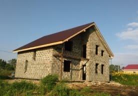 Дом из блоков арболита