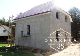 Газобетонный дом в Устюженском районе