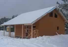 Строительство каркасного дома для ПМЖ в Городище