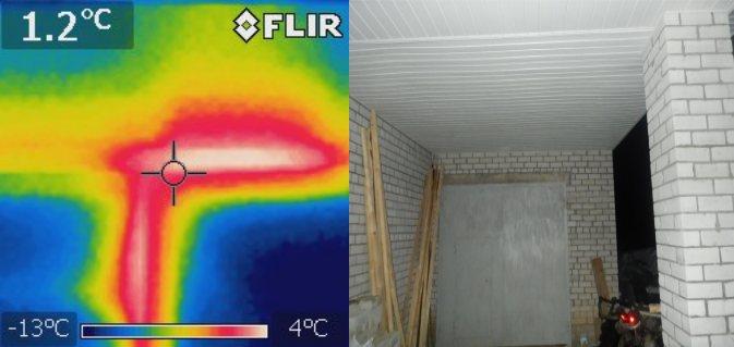 Тепловизор бетон коэффициент теплоотдачи бетона