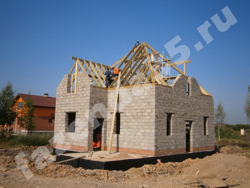 Как строить дом из арболитовых блоков своими руками 878