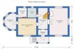 План первого этажа дома 3-18