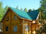 Кровля дом в деревне Вичелово