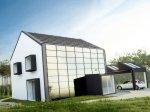 Красивый проект частного жилого дома