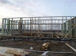 Возведение первого этажа каркасного дома