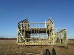 Строительство мансардного этажа каркасного дома 10 на 12
