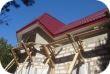 Проведение работ в Устюженском районе - дом из газобетона