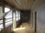 Утепление стен, перекрытий, перегородок каркасного дома