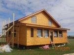 Завершено строительство каркасного дома 10 на 12 метров