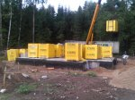 Возведение коробки дома из газобетона «YTONG» в Череповце