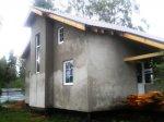 Наружная отделка каркасного дома материалами «Баумит»