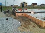 Строительство ленточно-плитного фундамента для дома