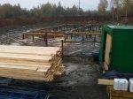 Начало строительства каркасного дома
