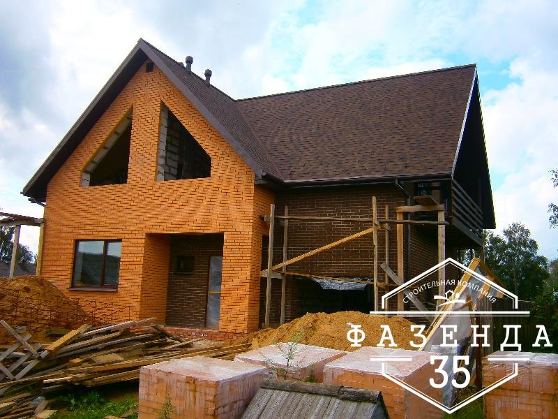 Строительство дома из газобетона в Бабаево