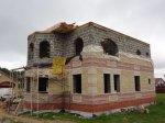 Завершение строительства второго этажа дома