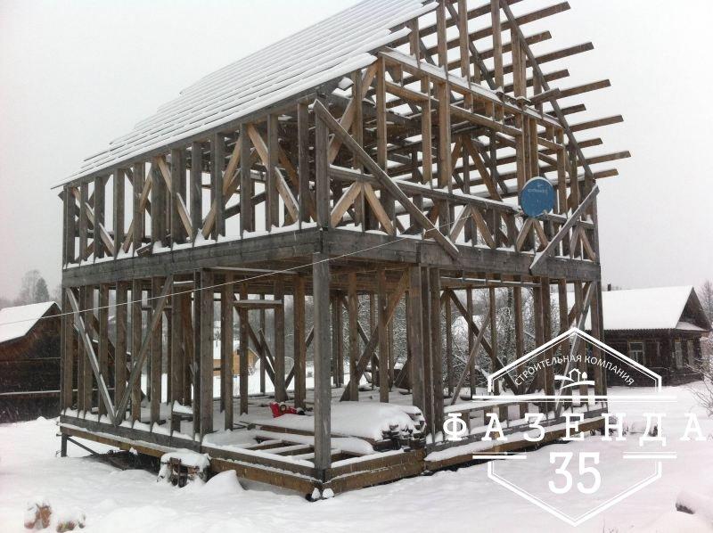 Выбор подрядчика на строительство каркасного дома для постоянного проживания
