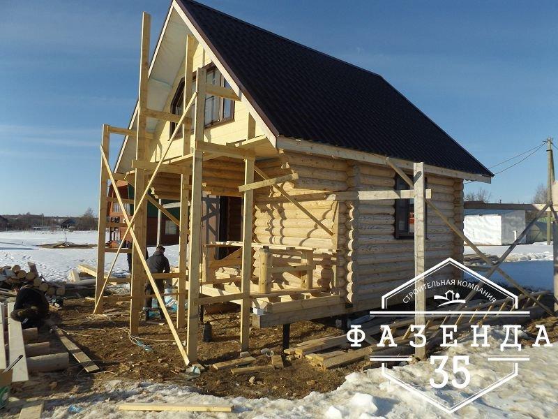 Строительство мансардного этажа дачного дома 6х6 под ключ