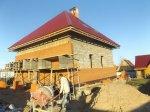 Строительство недорогого дома из арболита под ключ фото 11