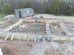 Мелкозаглубленный ленточный фундамент для дома 6х8