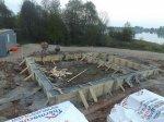 Возведение мелкозаглубленного ленточного фундамента в деревне Полынино
