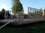 Строительство каркаса дома фото 4