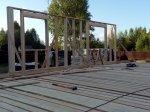 Строительство каркаса дома фото 5