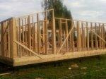 Строительство каркаса дома фото 6