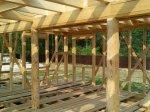 Строительство каркаса дома фото 15