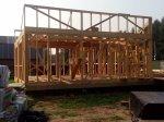 Строительство каркаса дома фото 18