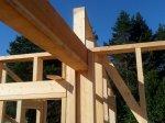 Строительство каркаса дома фото 10