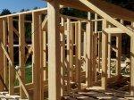 Строительство каркаса дома фото 11