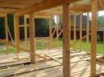 Строительство каркаса дома фото 13