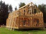 Строительство каркаса дома фото 26