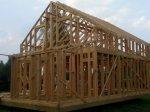 Строительство каркаса дома фото 27