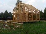 Строительство каркаса дома фото 28