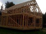 Строительство каркаса дома фото 30