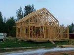 Строительство каркаса дома фото 31