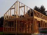 Строительство каркаса дома фото 19