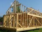 Строительство каркаса дома фото 20