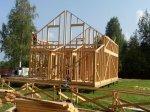 Строительство каркаса дома фото 21