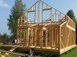 Строительство каркаса дома фото 22
