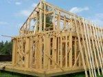 Строительство каркаса дома фото 24