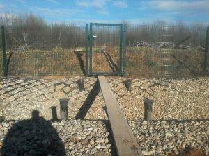Монтаж фундамента на винтовых сваях 108х2500 мм под мост