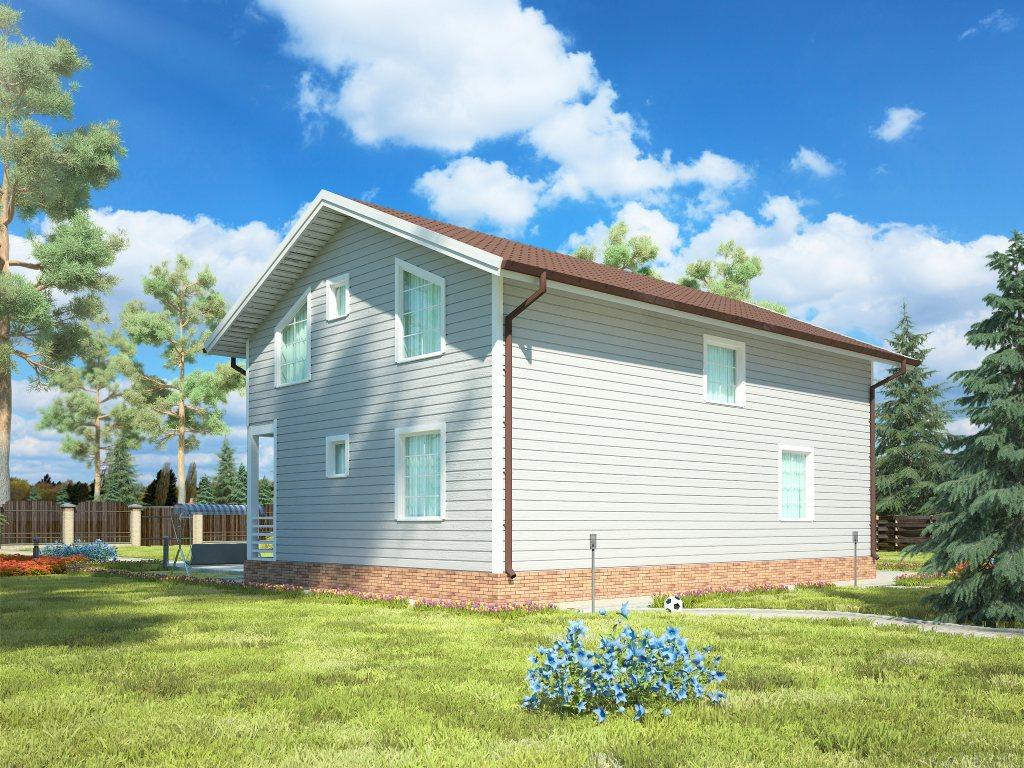 Проект дома для большой семьи площадью 183 м2 - фото 2