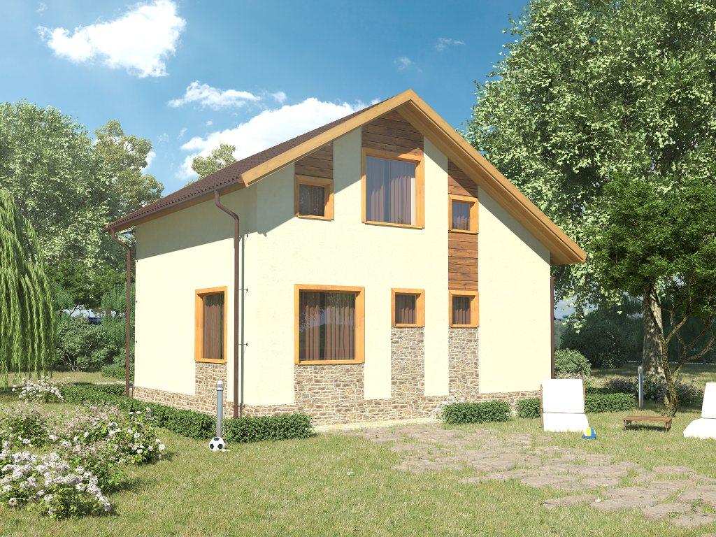 Проект небольшого уютного дома площадью 92 м2 - фото 2