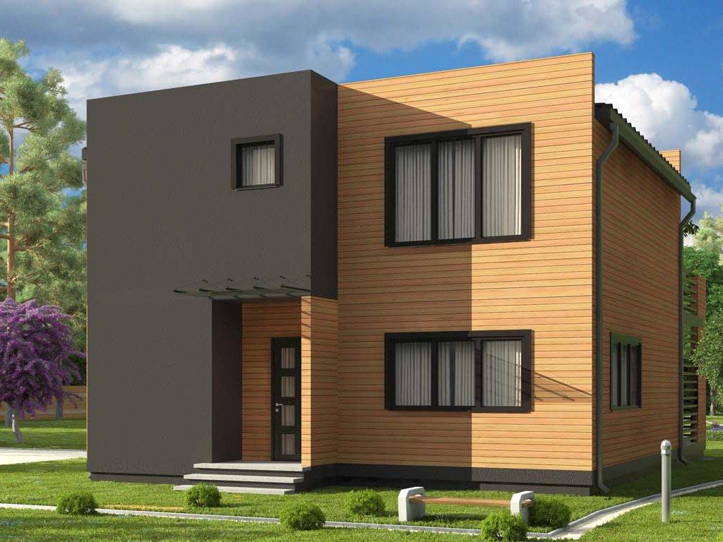 Проект дома в современном стиле площадью 186 м2 - фото 2